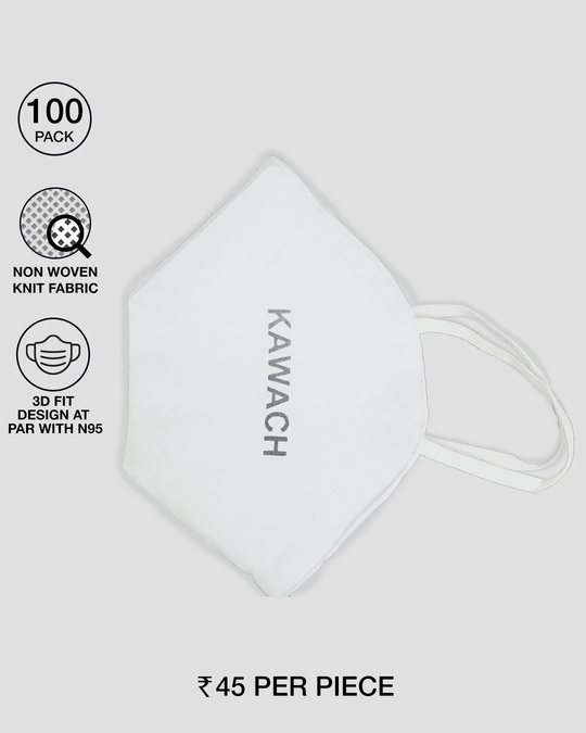 Shop E-Tex Kawach Mask - Pack of 100-Front
