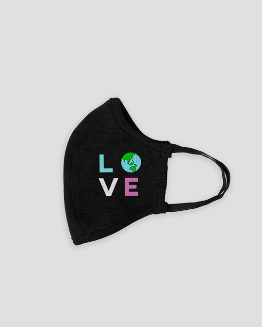Shop Earth Love Everyday Protective Mask-Back