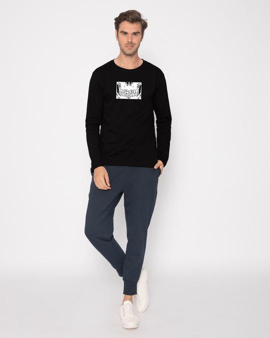 Shop Eff You Skull Full Sleeve T-Shirt-Full