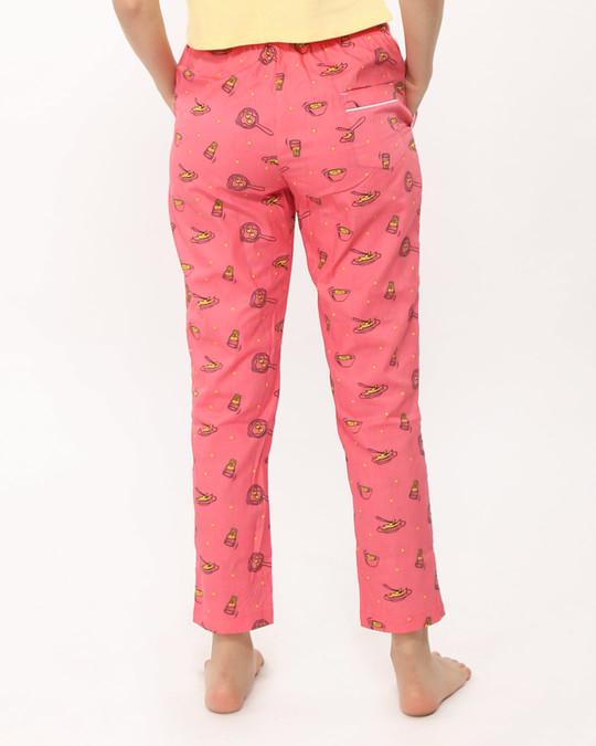 Shop Eggs & Sausage All Over Printed Pyjama-Design