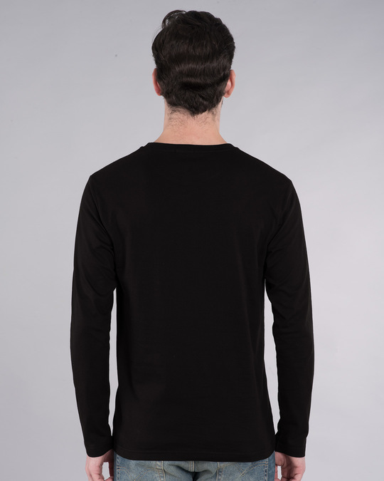 Shop Ego Hurt Full Sleeve T-Shirt-Back