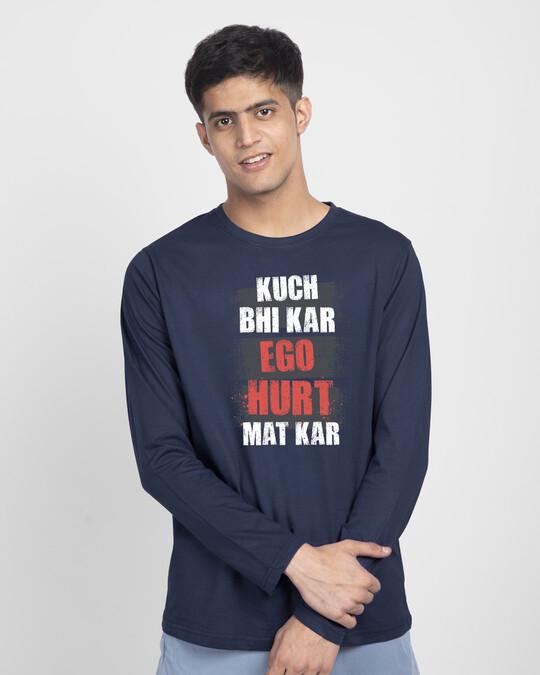 Shop Ego Hurt Full Sleeve T-Shirt-Front