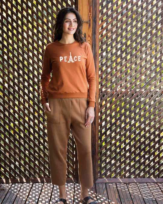Shop Eiffel Peace Sweatshirt-Full