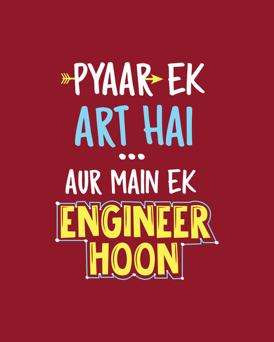Shop Ek Engineer Hoon Full Sleeve T-Shirt-Full
