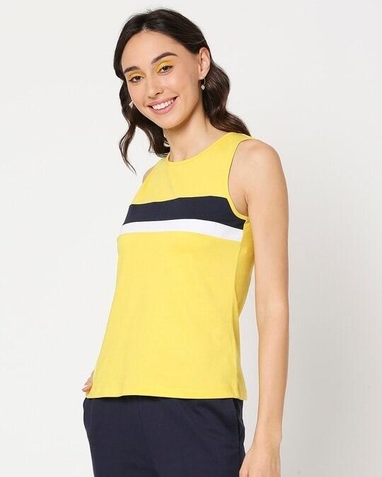 Shop Yolo Yellow Tank Top-Design