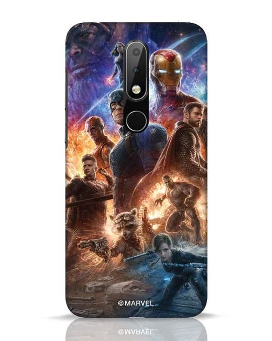 Shop Endgame Still Nokia 6.1 Plus Mobile Cover (AVL)-Front