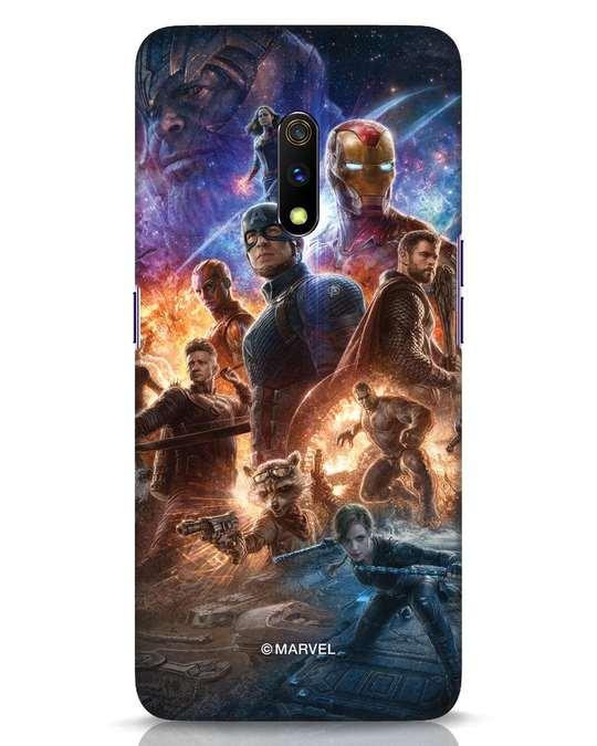 Shop Endgame Still Realme X Mobile Cover (AVL)-Front