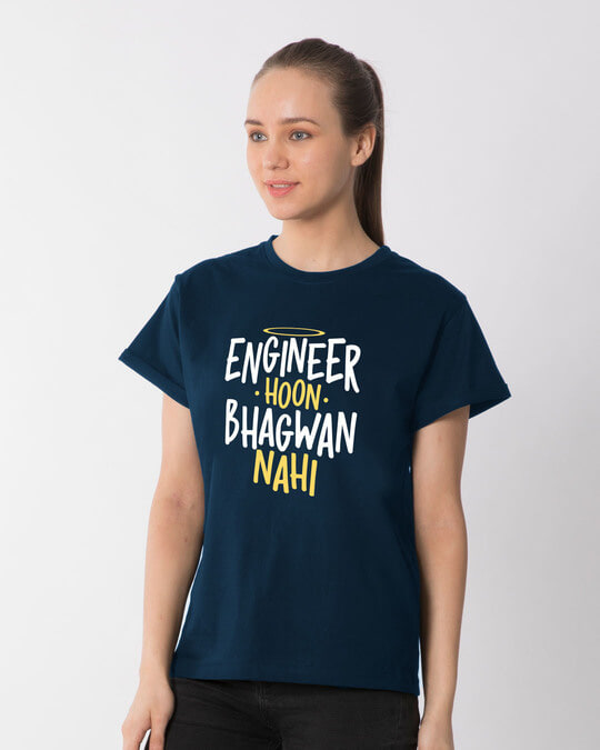 Shop Engineer Bhagwan Boyfriend T-Shirt-Back