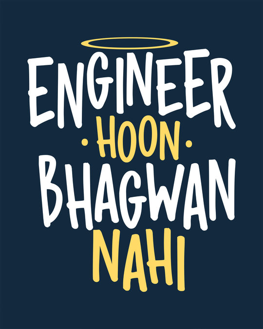 Shop Engineer Bhagwan Boyfriend T-Shirt