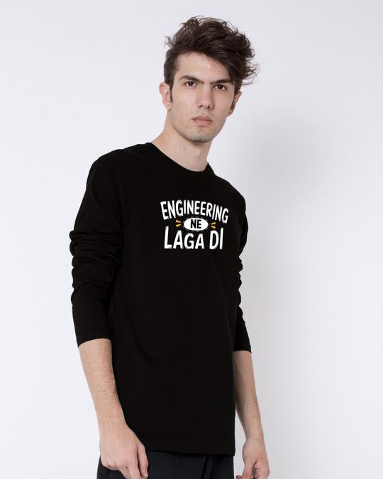 Shop Engineering Ne Laga Di Full Sleeve T-Shirt-Back