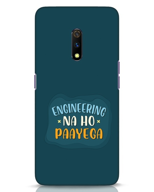 Shop Engineering Realme X Mobile Cover-Front
