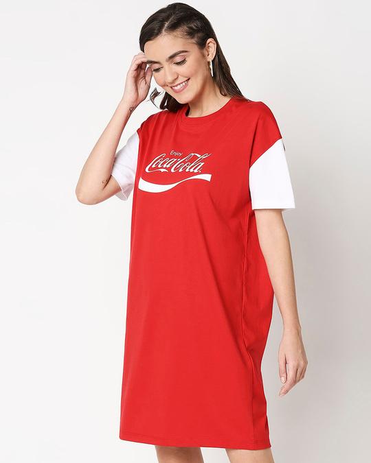 Shop Enjoy Coca-Cola Raglan Dress-Design