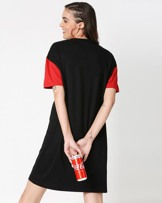 Shop Enjoy Coca-Cola Raglan Dress-Full