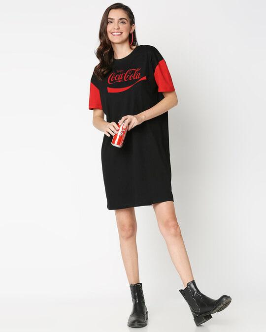 Shop Enjoy Coca-Cola Raglan Dress