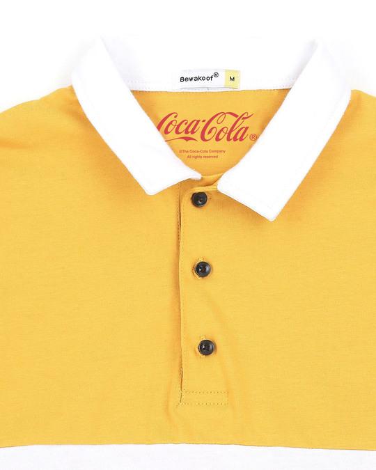 Shop Enjoy Coca-Cola Half Sleeves Polo T-Shirt