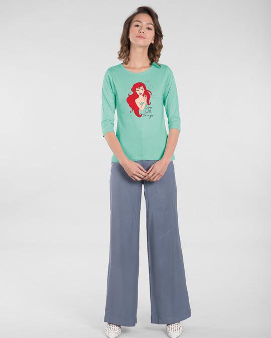 Shop Enjoy Little Bubbles Round Neck 3/4th Sleeve T-Shirt (DL)-Design