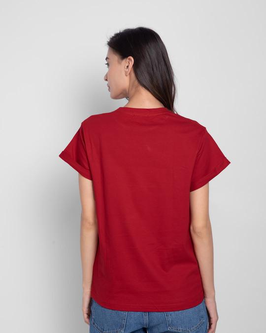 Shop Enjoy Little Things Boyfriend T-Shirt-Back