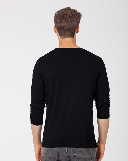 Shop Enjoy The Little Things Full Sleeve T-Shirt-Back