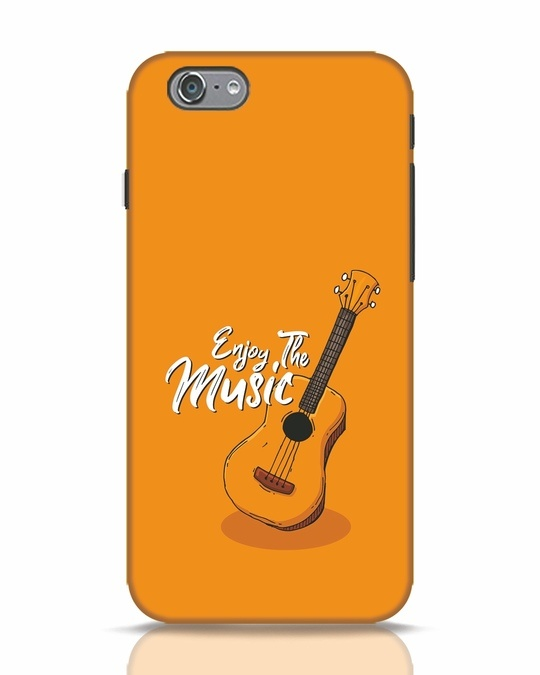 Shop Enjoy The Music iPhone 6s Mobile Cover-Front