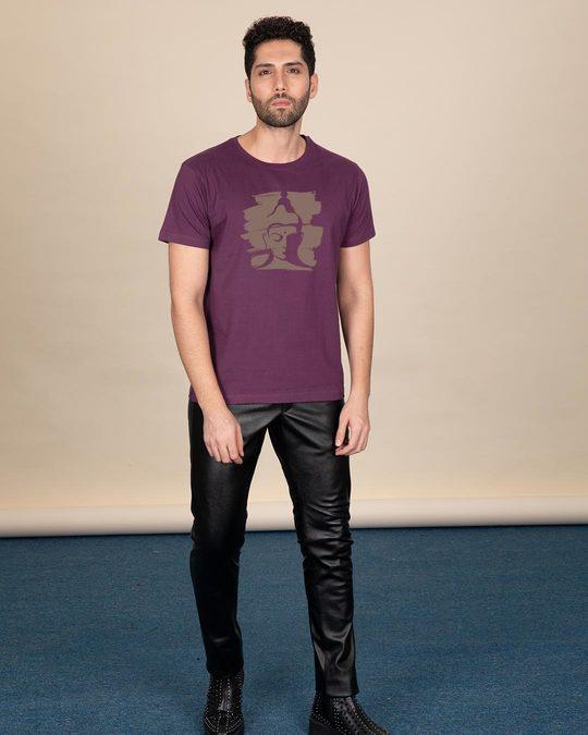 Shop Enlightenment Half Sleeve T-Shirt-Full