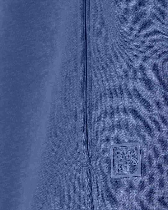 Shop Ensign Blue Cut & Sew Zipper Hoodie