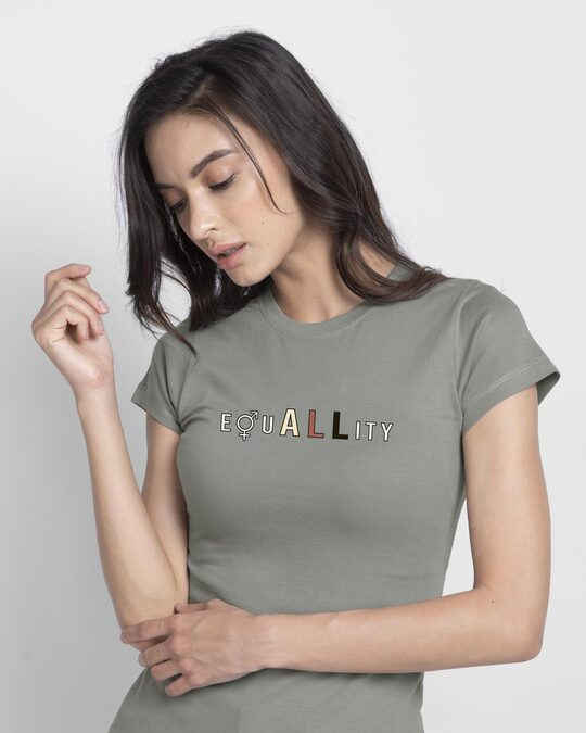 Shop Equality Half Sleeve T-Shirt-Front