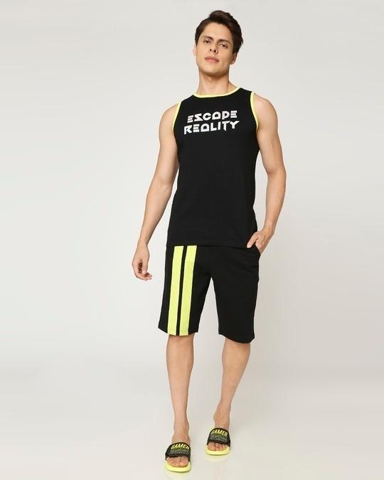 Shop Escape Reality ! Contrast Binding Vest