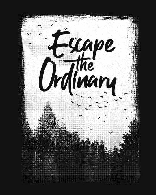 Shop Escape The Ordinary Basic Round Hem T-Shirt