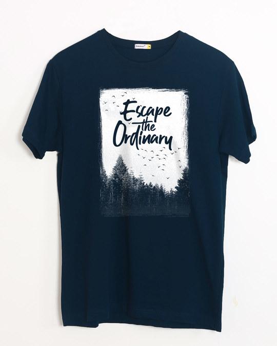 Shop Escape The Ordinary Half Sleeve T-Shirt-Front