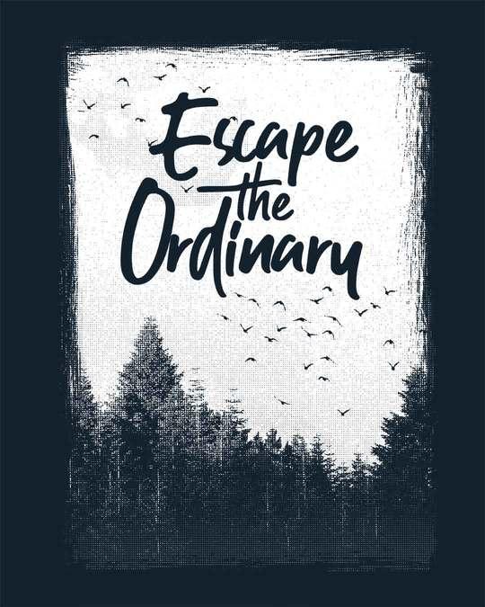 Shop Escape The Ordinary Half Sleeve T-Shirt