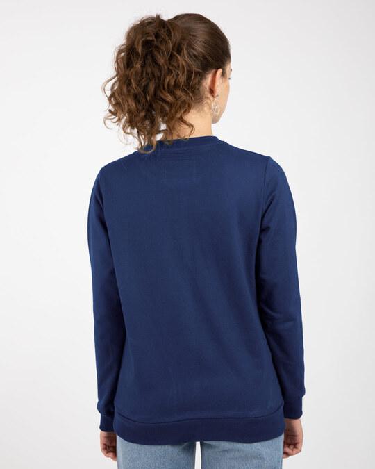 Shop Evening Blue Fleece Light Sweatshirt-Design