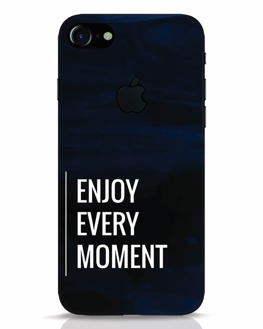 Shop Every Moment iPhone 7 Logo Cut Mobile Cover-Front