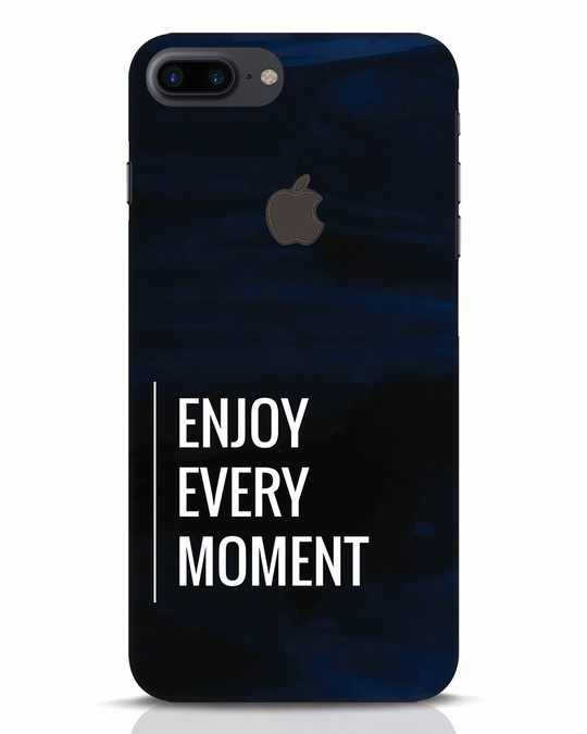 Shop Every Moment iPhone 7 Plus Logo Cut Mobile Cover-Front