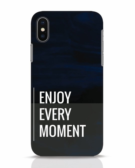 Shop Every Moment iPhone X Mobile Cover-Front