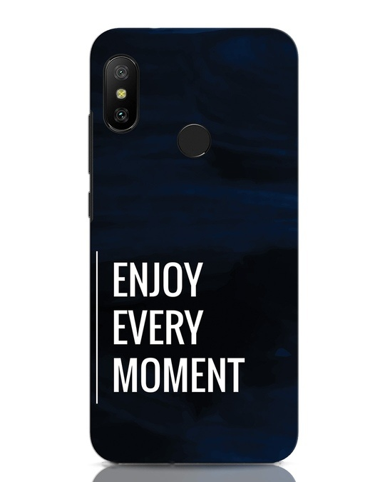 Shop Every Moment Xiaomi Redmi Note 6 Pro Mobile Cover-Front