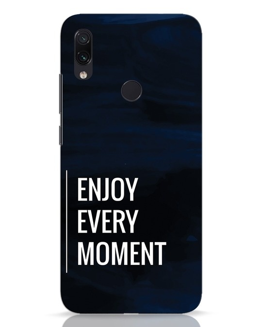 Shop Every Moment Xiaomi Redmi Note 7 Mobile Cover-Front