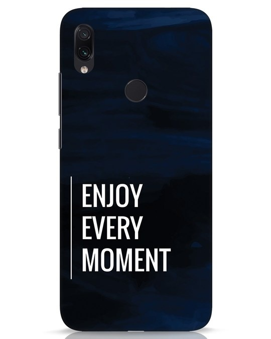 Shop Every Moment Xiaomi Redmi Note 7s Mobile Cover-Front