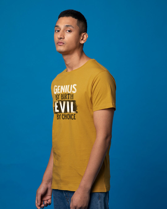 Shop Evil By Choice Half Sleeve T-Shirt-Design