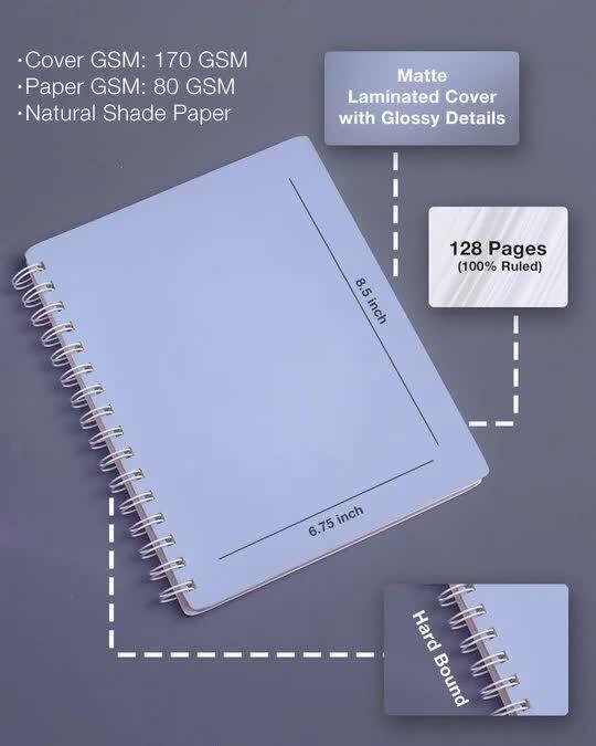 Shop Evil Plans Spiral Notebooks-Design