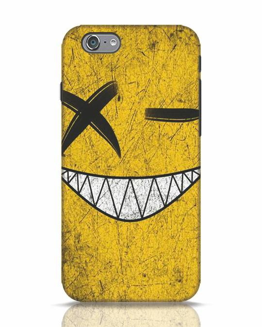 Shop Evil Smile iPhone 6 Mobile Cover-Front