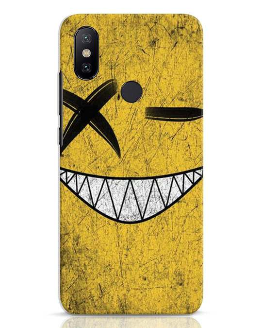 Shop Evil Smile Xiaomi Mi A2 Mobile Cover-Front