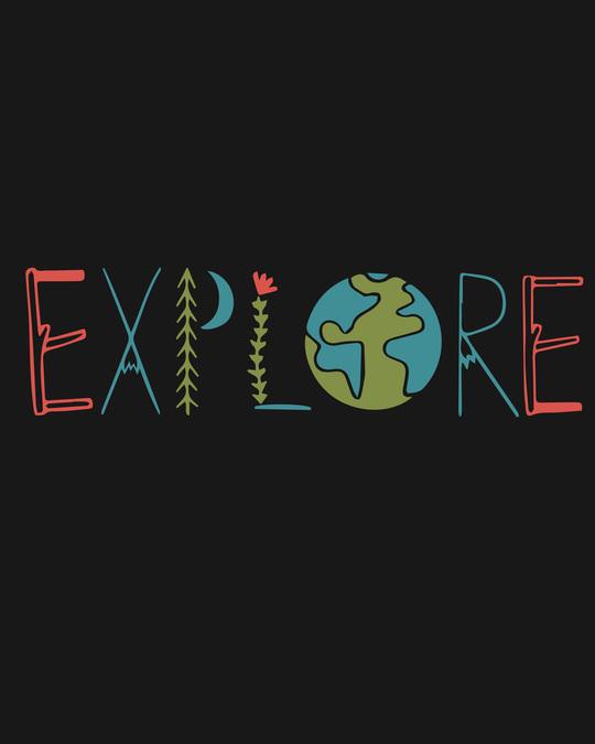 Shop Explore Colors Fleece Light Sweatshirt-Full
