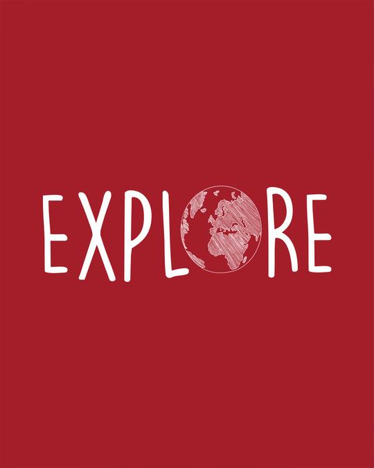 Shop Explore Globe Boyfriend T-Shirt-Full