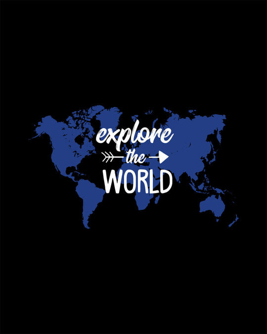 Shop Explore Map Full Sleeve T-Shirt