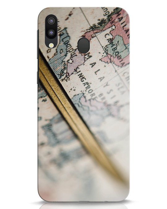 Shop Explore Map Samsung Galaxy M20 Mobile Cover-Front