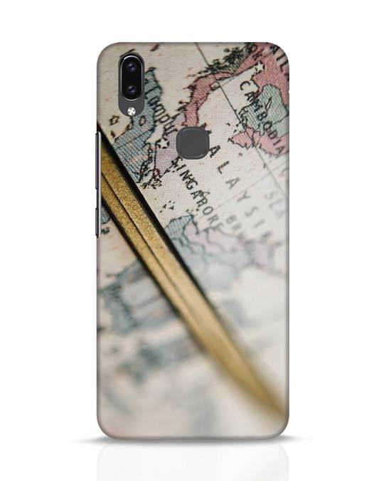 Shop Explore Map Vivo V9 Mobile Cover-Front