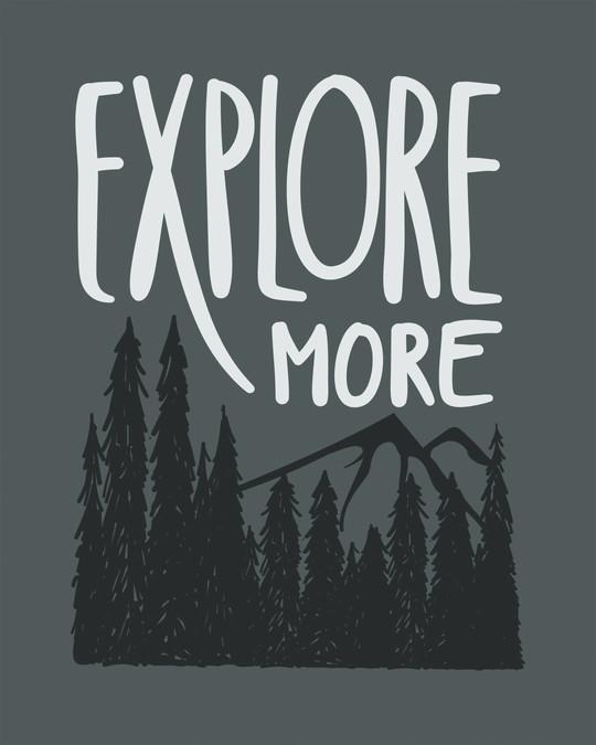 Shop Explore More Mountains Boyfriend T-Shirt-Full