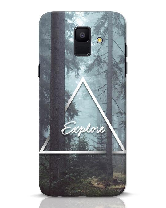 Shop Explore Nature Samsung Galaxy A6 2018 Mobile Cover-Front