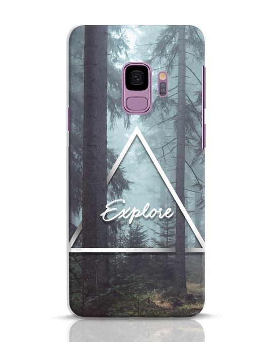 Shop Explore Nature Samsung Galaxy S9 Mobile Cover-Front