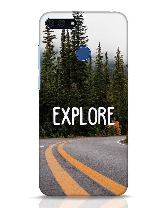 Shop Explore The Mountains Huawei Honor 7A Mobile Cover-Front
